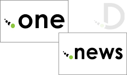 Here are the newly arrived .news and .one domains!